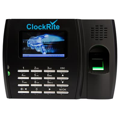ClockRite C200 Fingerprint Clocking Machine Front